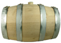 Heavyweight Charred Oak Keg