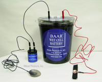 Baar wet cell battery assembled