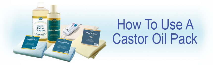 How to Use a Castor Oil Pack