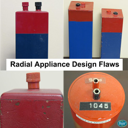 Radial Appliance Design Flaws