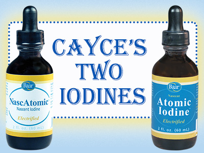 Edgar Cayce's Two Iodines