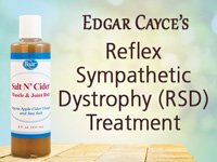 Edgar Cayce's Reflex Sympathetic Dystrophy (RSD) Treatment Salt N' Cider Muscle Joint Rub