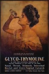 New York Glyco-Thymoline Poster