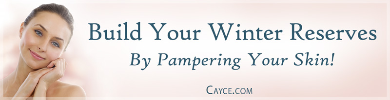 Build Your Winter Reserves: By Pampering Your Skin!