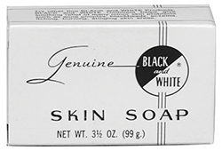 Genuine Black and White Skin Soap