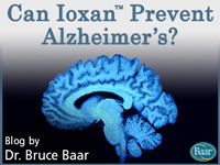 Can Ioxan Prevent Alzheimers? Article by Dr. Bruce Baar on Baar.com